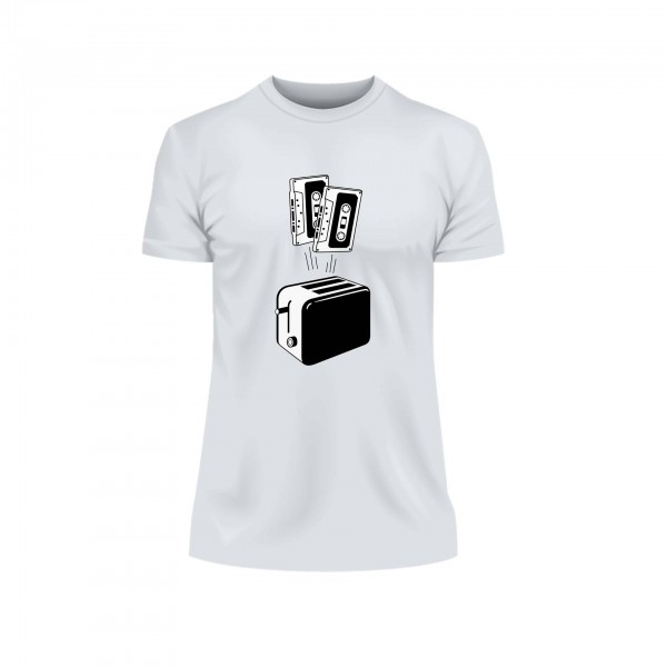 Tape Toaster Retro Shirt Männer
