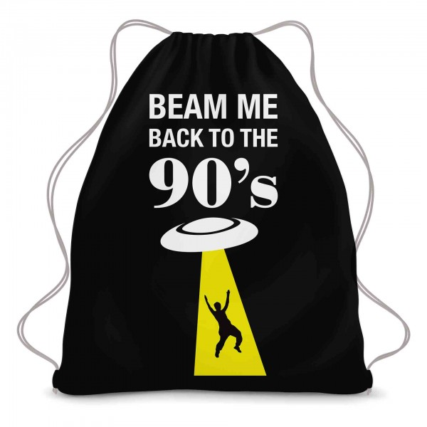Beam me back to the 90s Turnbeutel