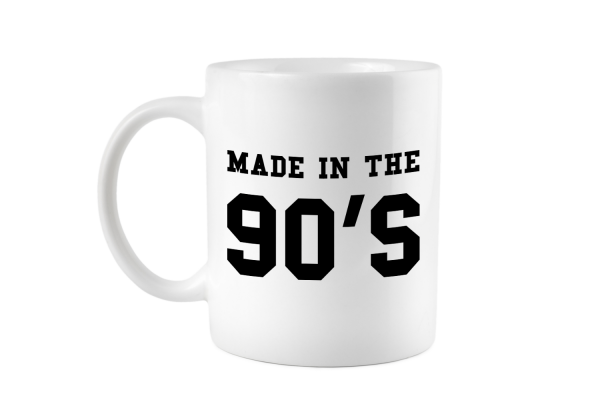 Made in the 90s Tasse