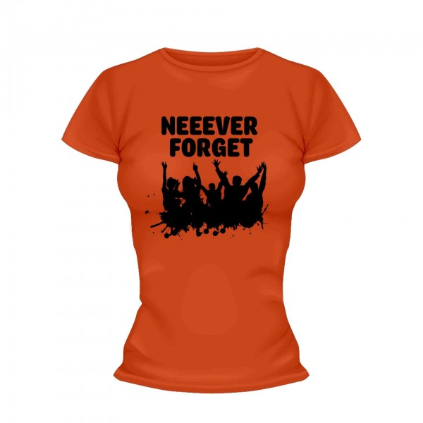 Never Forget Party Shirt Frauen