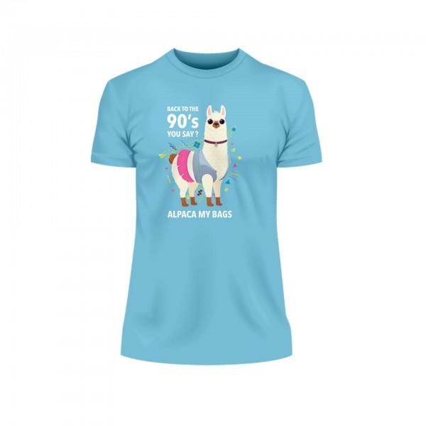 Alpaca Shirt Männer