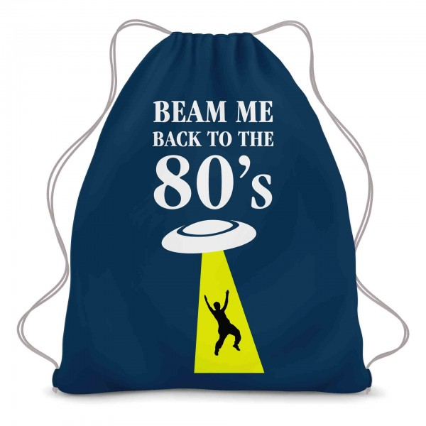 Beam me back to the 80s Turnbeutel