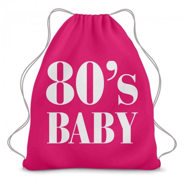80s Baby Turnbeutel