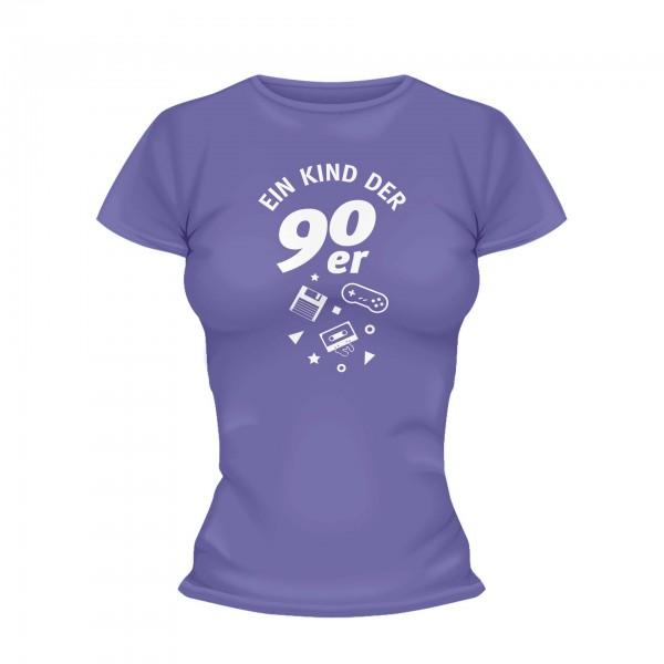 Ein Kind der 90er Shirt Frauen