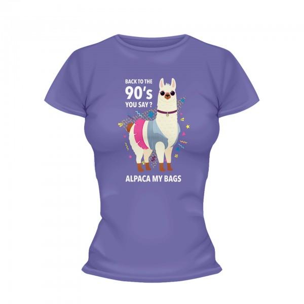 Alpaca Shirt Frauen
