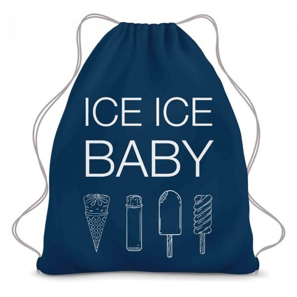 Ice Ice Baby Turnbeutel
