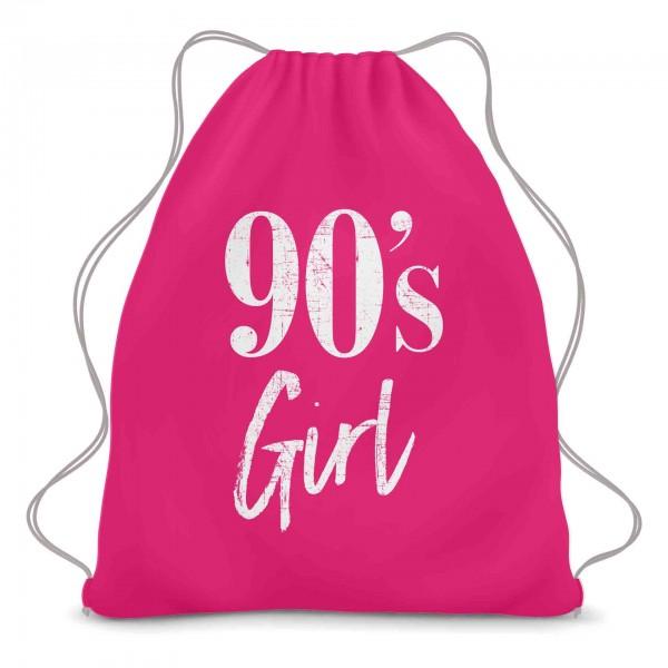 90 Girl Turnbeutel